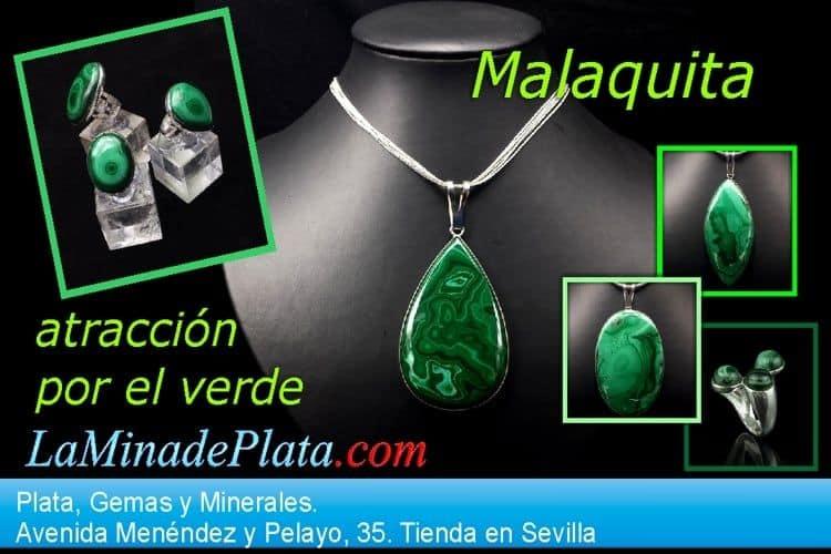 Malaquita, piedra semipreciosa de gran atractivo