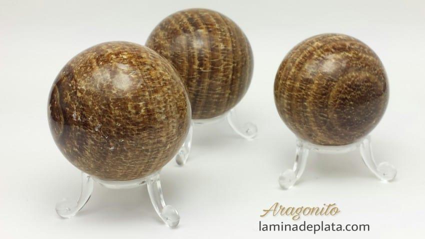 Esferas de Aragonito