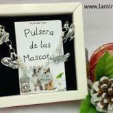 Pulsera de las Mascotas en plata.